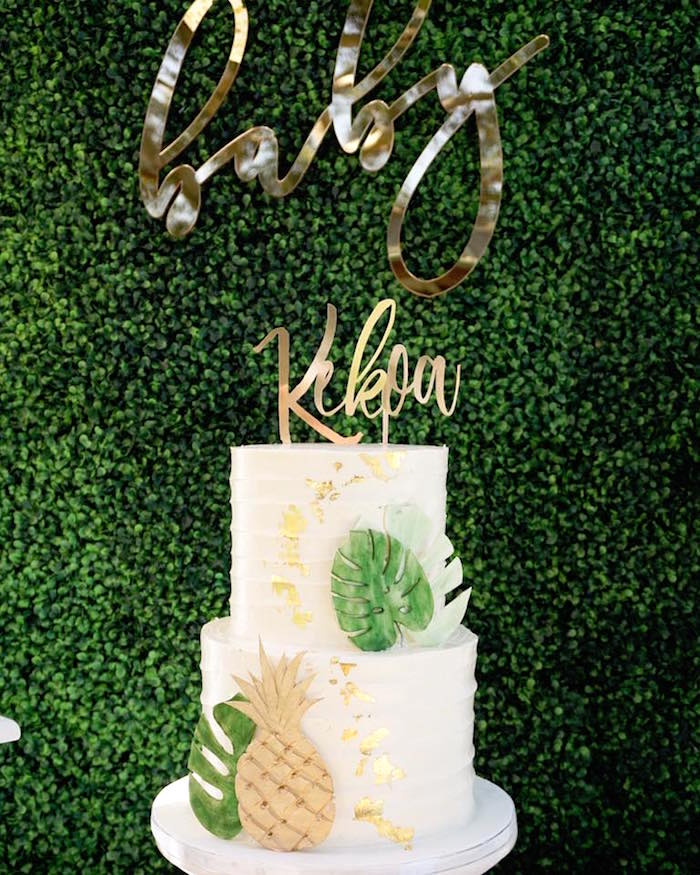 Hawaiian Baby Shower Decoration Ideas