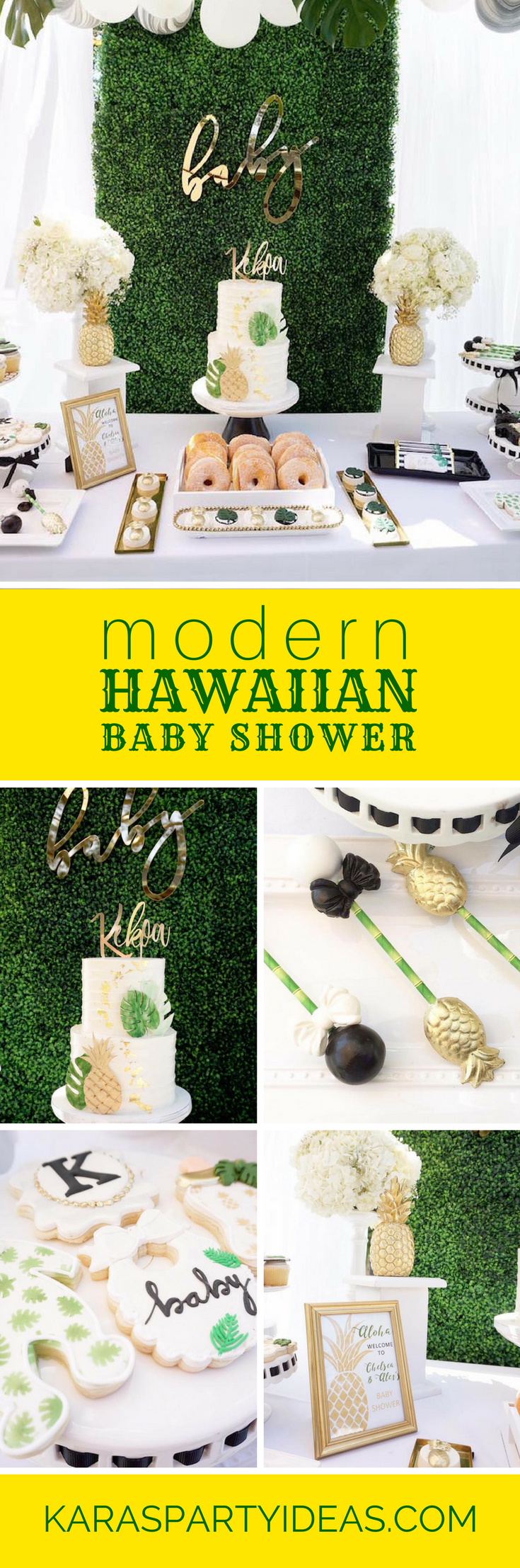 Baby Shower Favors Hawaii kara's party ideas modern hawaiian baby shower | kara's party ideas