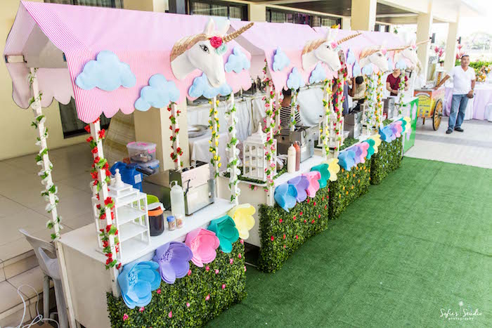 Food stands from a My Little Pony Birthday Party on Kara's Party Ideas | KarasPartyIdeas.com (9)
