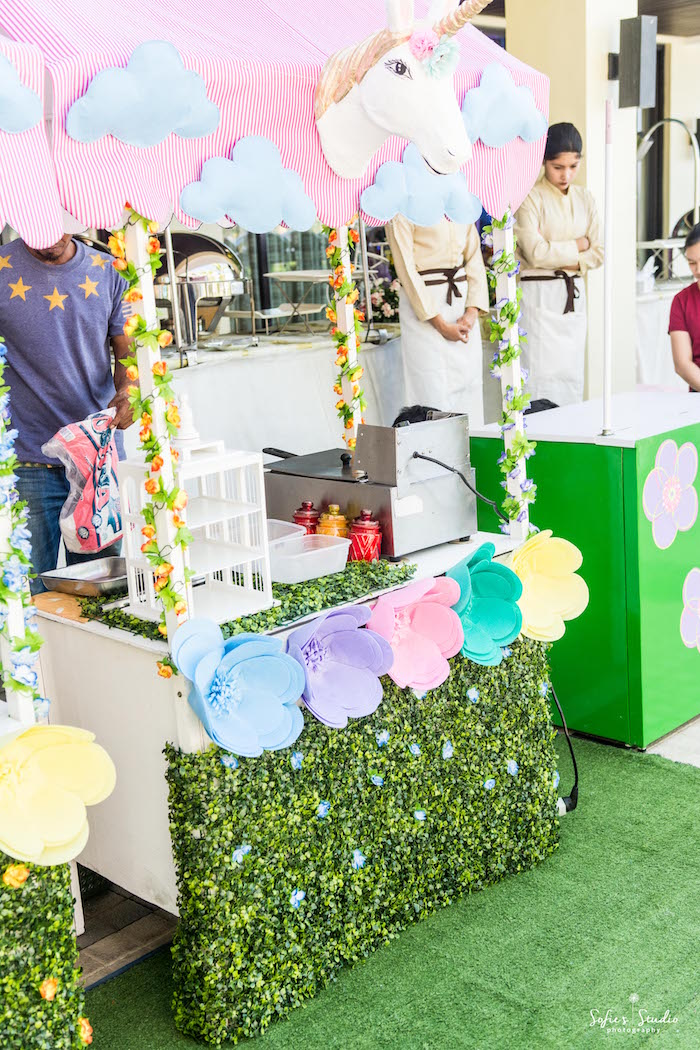 Food stand from a My Little Pony Birthday Party on Kara's Party Ideas | KarasPartyIdeas.com (8)