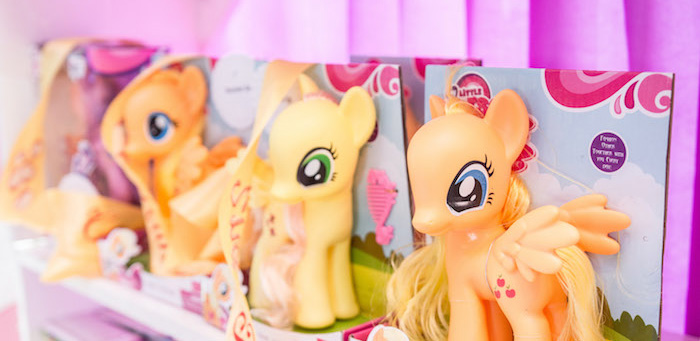 My Little Pony Birthday Party on Kara's Party Ideas | KarasPartyIdeas.com (1)