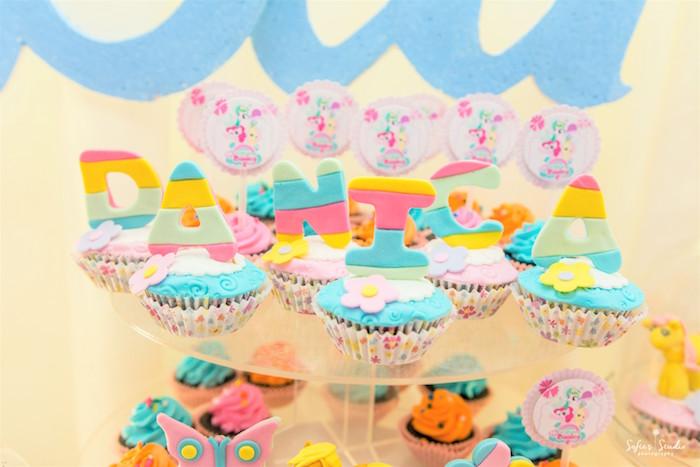 Cupcakes from a My Little Pony Birthday Party on Kara's Party Ideas | KarasPartyIdeas.com (26)
