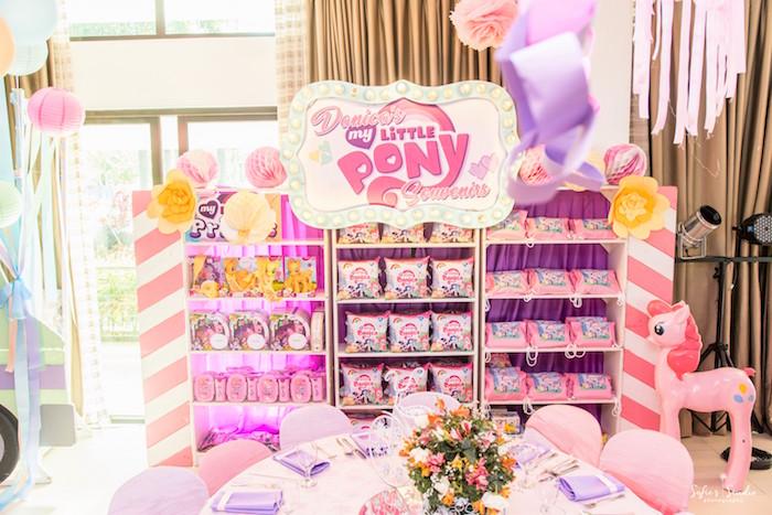 Favors from a My Little Pony Birthday Party on Kara's Party Ideas | KarasPartyIdeas.com (22)