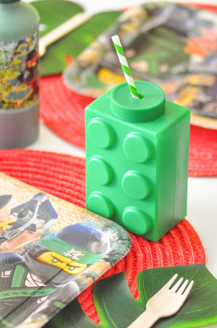 DIY LEGO NINJAGO Movie Favor Bags