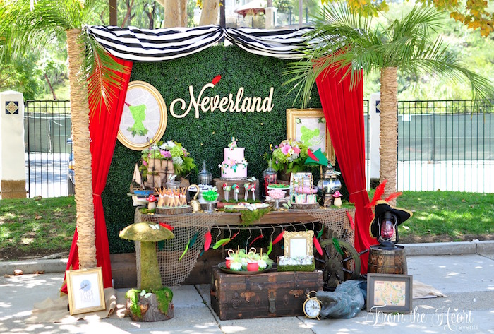 Neverland Birthday Party on Kara's Party Ideas   KarasPartyIdeas.com (34)
