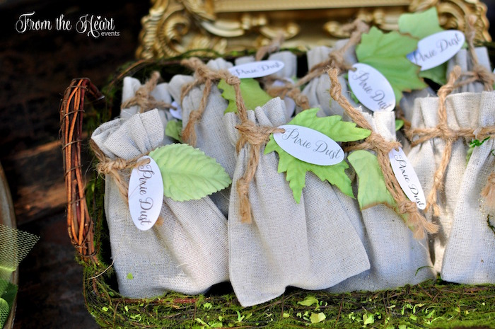 Pixie Dust packets from a Neverland Birthday Party on Kara's Party Ideas | KarasPartyIdeas.com (28)