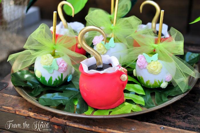 Neverland cake pops from a Neverland Birthday Party on Kara's Party Ideas | KarasPartyIdeas.com (27)