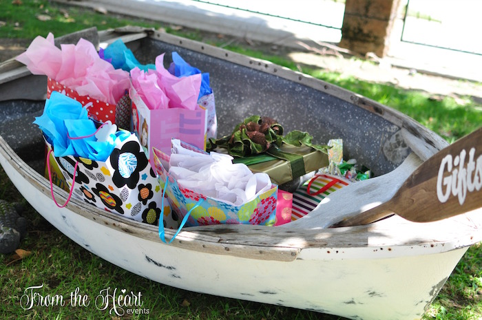 Gift boat from a Neverland Birthday Party on Kara's Party Ideas   KarasPartyIdeas.com (14)