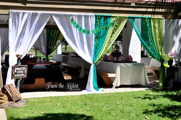 Partyscape from a Neverland Birthday Party on Kara's Party Ideas   KarasPartyIdeas.com (46)