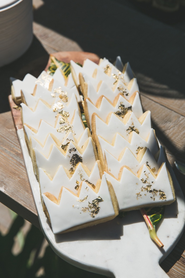 "Crown cookies from a Rustic ""Where the Wild Things Are"" Birthday Party on Kara's Party Ideas 