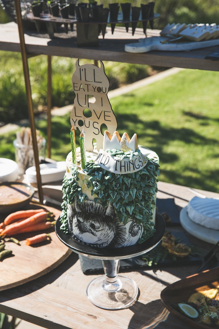 "Rustic ""Where the Wild Things Are"" Birthday Party on Kara's Party Ideas 