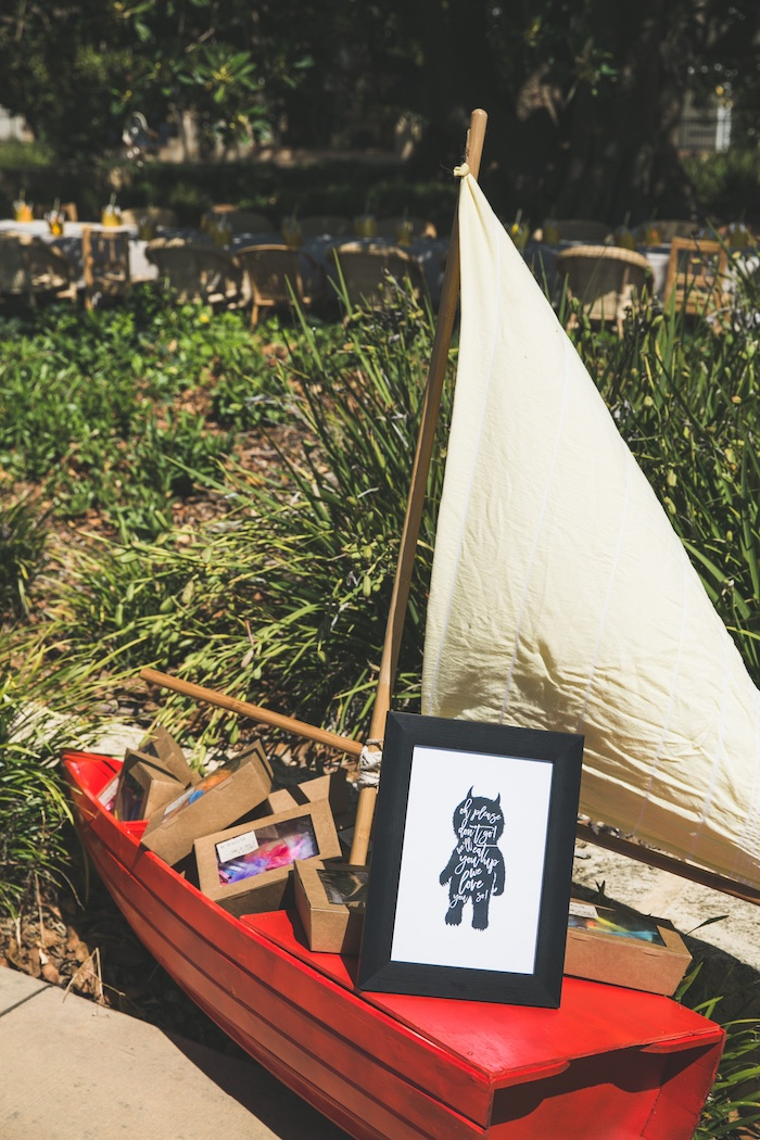 """Rustic """"Where the Wild Things Are"""" Birthday Party on Kara's Party Ideas   KarasPartyIdeas.com (19)"""