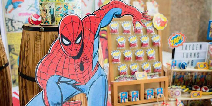 Rustic Spiderman Birthday Party on Kara's Party Ideas | KarasPartyIdeas.com (1)