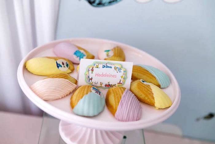 Madeleines from a Seussville Birthday Party on Kara's Party Ideas | KarasPartyIdeas.com (14)
