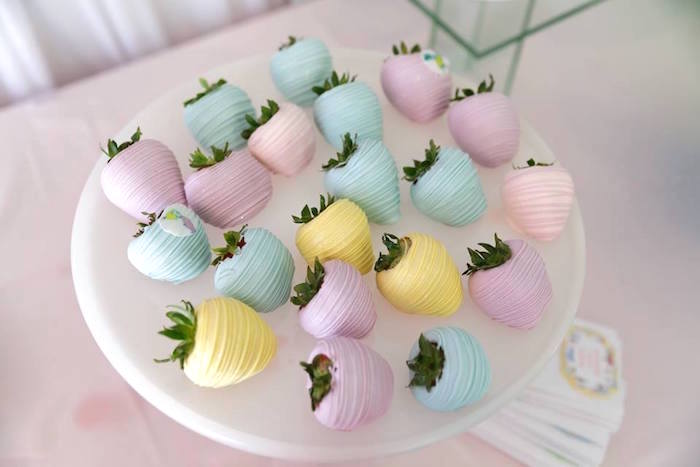 Chocolate dipped strawberries from a Seussville Birthday Party on Kara's Party Ideas | KarasPartyIdeas.com (10)
