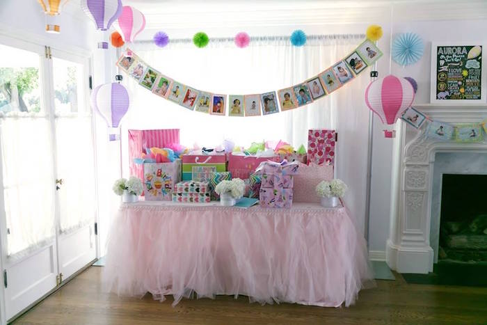 Gift table from a Seussville Birthday Party on Kara's Party Ideas | KarasPartyIdeas.com (33)