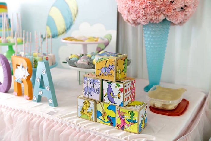 Dr. Seuss Blocks from a Seussville Birthday Party on Kara's Party Ideas | KarasPartyIdeas.com (27)