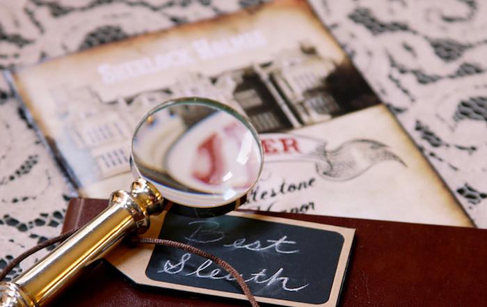 Best Sleuth Award from a Sherlock Holmes Murder Mystery Party on Kara's Party Ideas | KarasPartyIdeas.com (5)