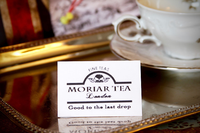 Moriar Tea label from a Sherlock Holmes Murder Mystery Party on Kara's Party Ideas | KarasPartyIdeas.com (14)