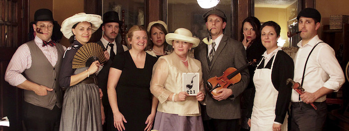 Cast of Scandalous Characters from a Sherlock Holmes Murder Mystery Party on Kara's Party Ideas | KarasPartyIdeas.com (7)
