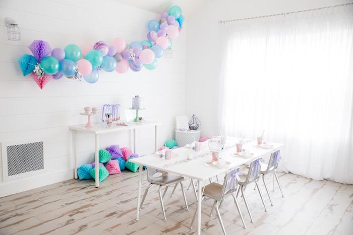 "Shiny Pastel ""She's a Gem"" Birthday Party on Kara's Party Ideas | KarasPartyIdeas.com (28)"