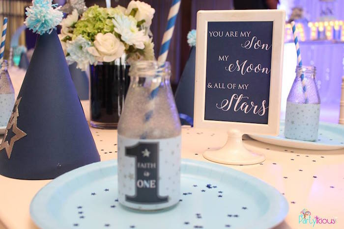 Signage from a Stars and Moon Birthday Party on Kara's Party Ideas | KarasPartyIdeas.com (16)
