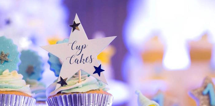 Stars and Moon Birthday Party on Kara's Party Ideas | KarasPartyIdeas.com (1)