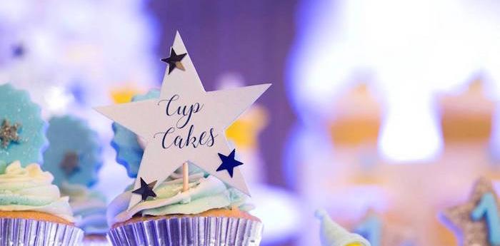 Stars and Moon Birthday Party on Kara's Party Ideas | KarasPartyIdeas.com (1)