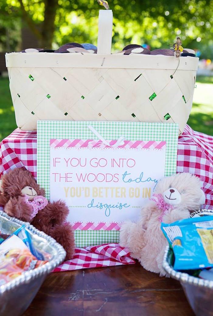 Kara s party ideas sunny teddy bear picnic birthday