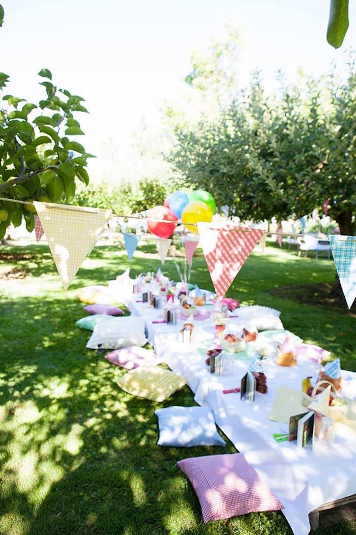 Kara S Party Ideas Sunny Teddy Bear Picnic Birthday Party