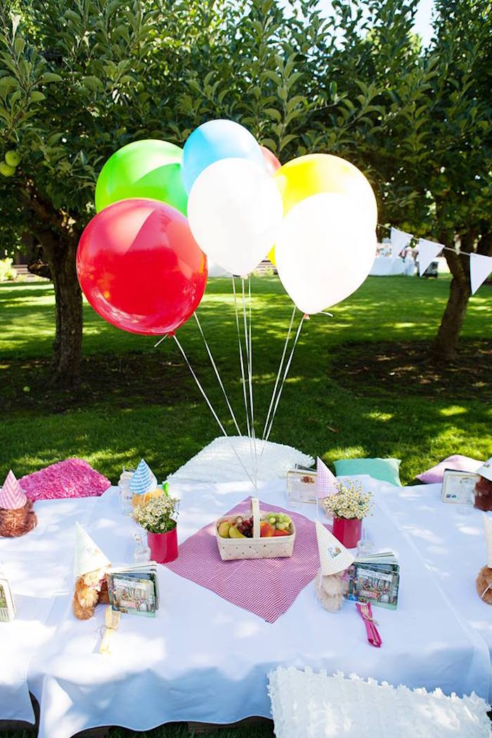 Kara s party ideas sunny teddy bear picnic birthday