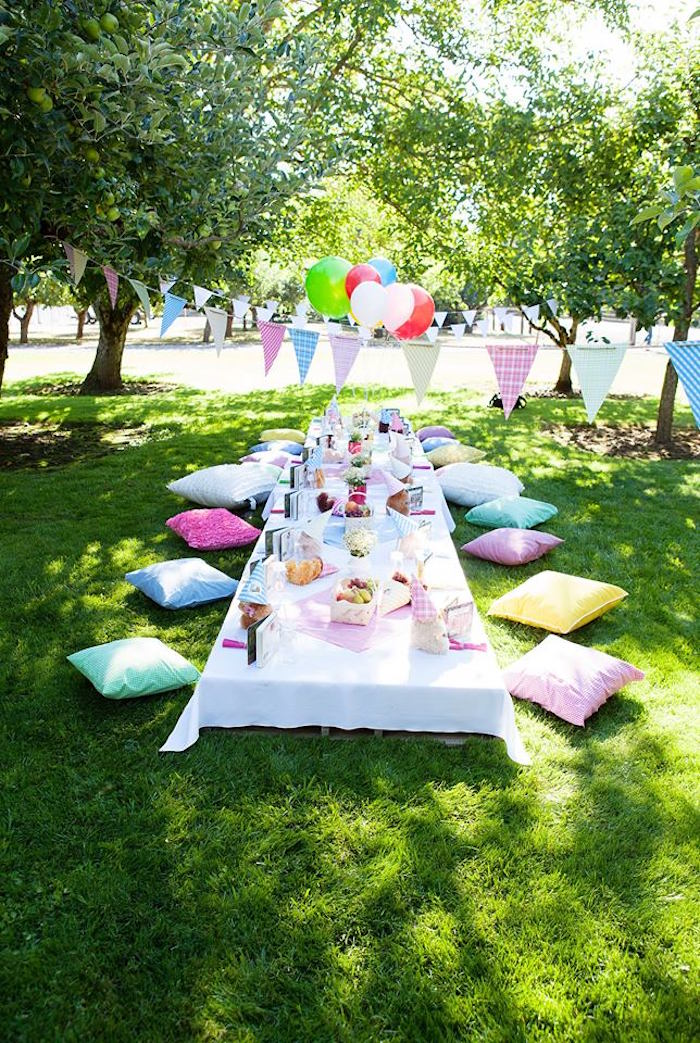 Outdoor Decoration Ideas For Baby Shower