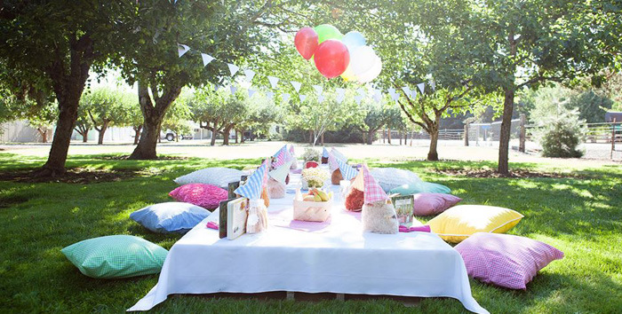 Teddy Bear Picnic Birthday Party on Kara's Party Ideas | KarasPartyIdeas.com (2)