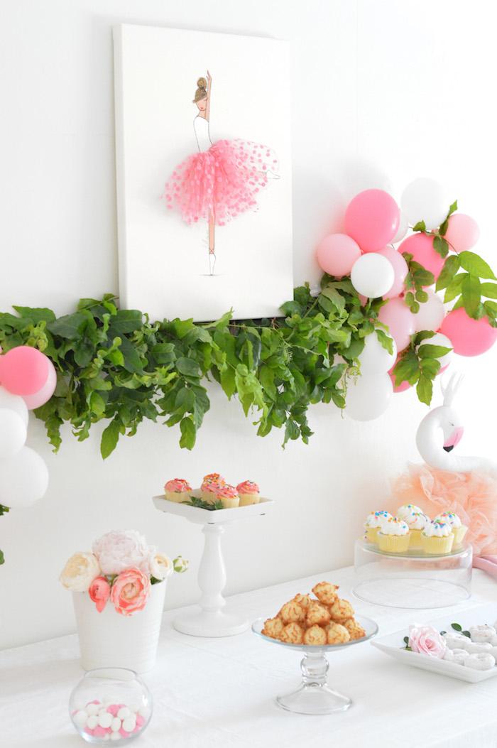 Tutu Garden Birthday Party on Kara's Party Ideas | KarasPartyIdeas.com (16)