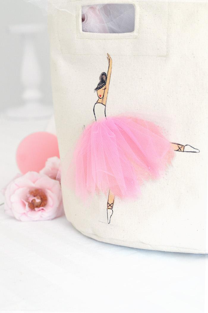 3D ballerina from a Tutu Garden Birthday Party on Kara's Party Ideas | KarasPartyIdeas.com (10)