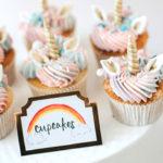 Unicorns, Rainbows and Clouds Birthday Party on Kara's Party Ideas | KarasPartyIdeas.com (2)