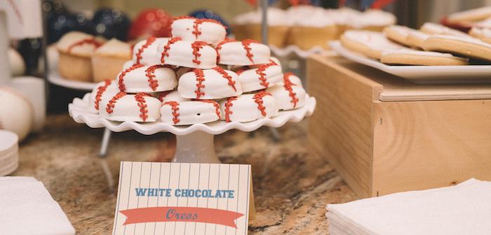 Vintage Baseball Birthday Party on Kara's Party Ideas | KarasPartyIdeas.com (3)