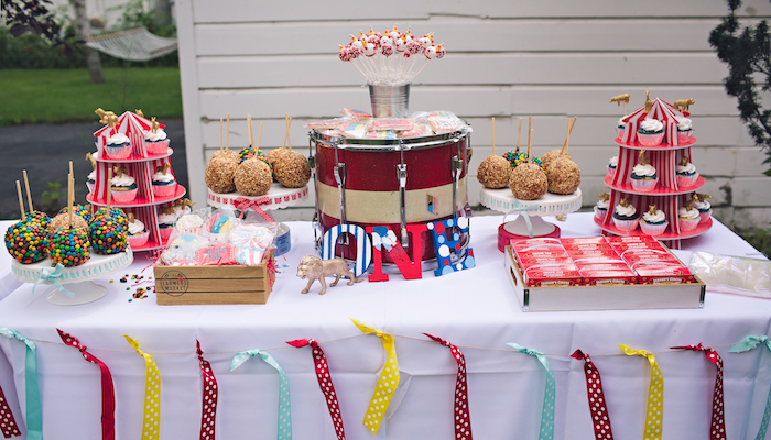 Vintage Circus Birthday Party on Kara's Party Ideas | KarasPartyIdeas.com (32)