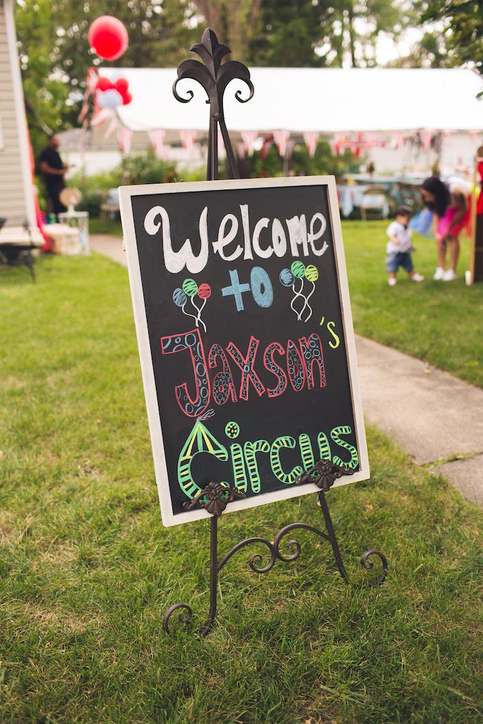 Vintage Circus Birthday Party on Kara's Party Ideas | KarasPartyIdeas.com (50)