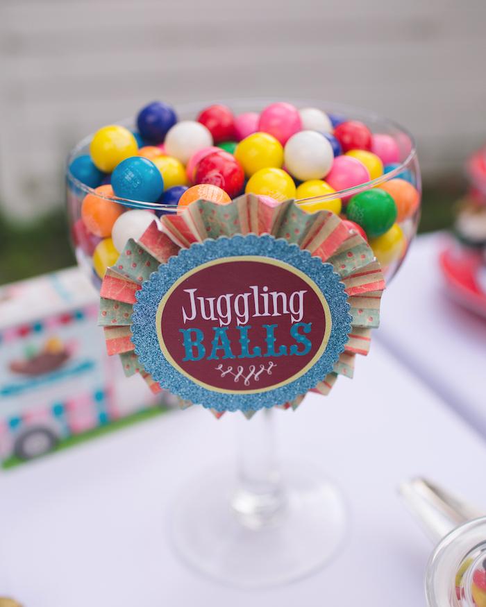 Vintage Circus Birthday Party on Kara's Party Ideas | KarasPartyIdeas.com (24)