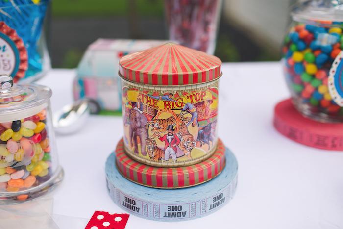 Vintage Circus Birthday Party on Kara's Party Ideas | KarasPartyIdeas.com (22)