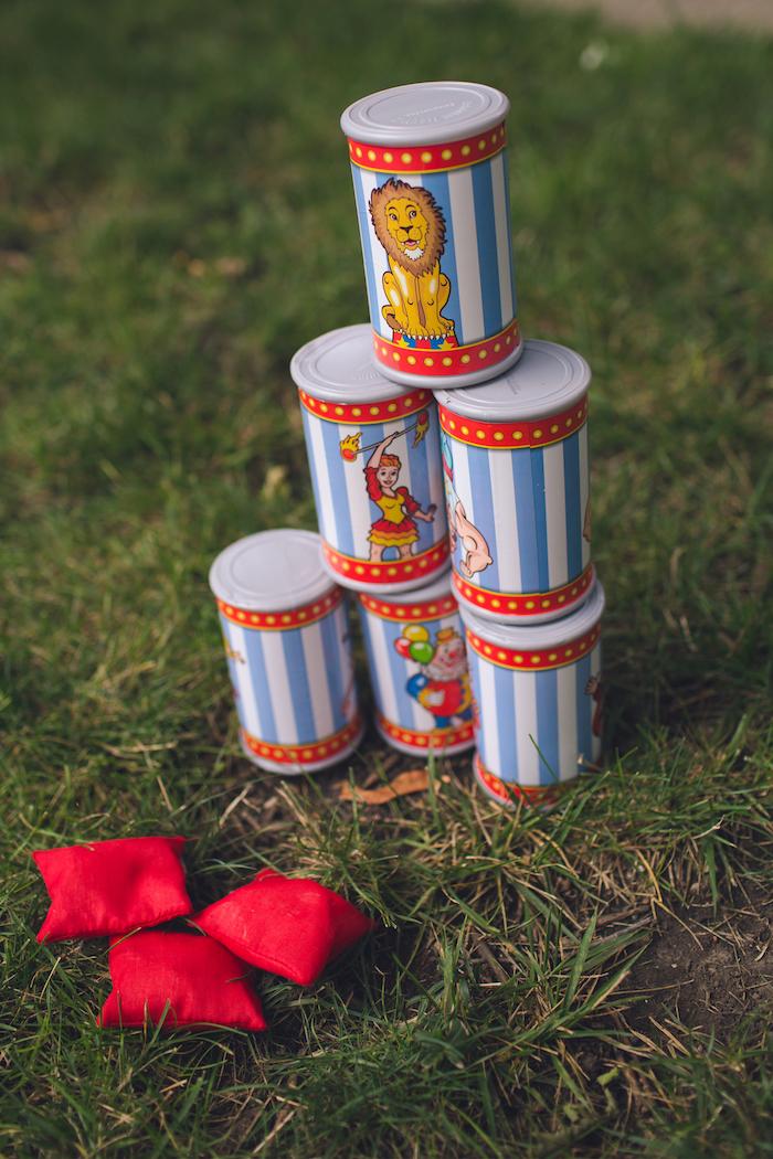 Vintage Circus Birthday Party on Kara's Party Ideas | KarasPartyIdeas.com (16)