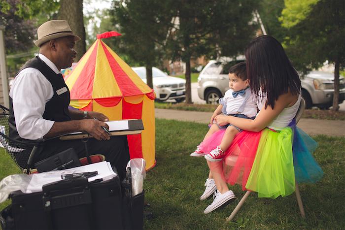 Vintage Circus Birthday Party on Kara's Party Ideas | KarasPartyIdeas.com (10)