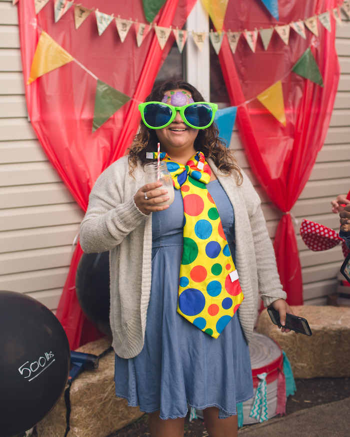Vintage Circus Birthday Party on Kara's Party Ideas | KarasPartyIdeas.com (8)