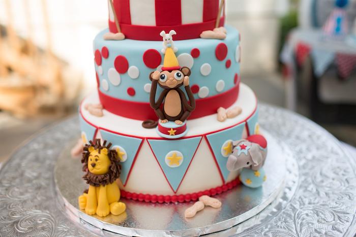 Vintage Circus Birthday Party on Kara's Party Ideas | KarasPartyIdeas.com (6)