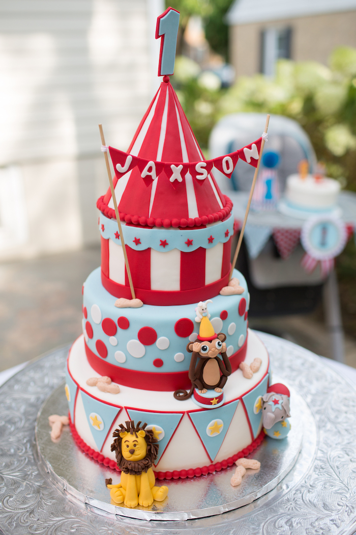 Vintage Circus Birthday Party on Kara's Party Ideas | KarasPartyIdeas.com (5)