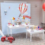 Vintage Hot Air Balloon Birthday Party on Kara's Party Ideas | KarasPartyIdeas.com (11)