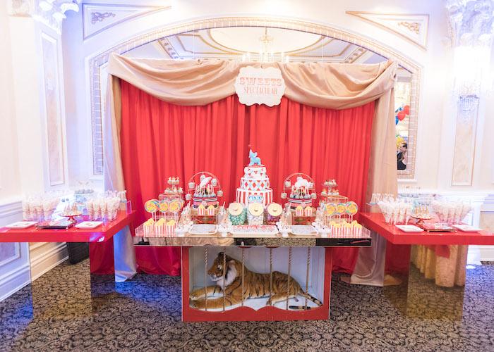 Vintage Whimsical Circus Birthday Party on Kara's Party Ideas | KarasPartyIdeas.com (13)