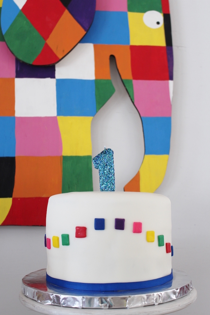 Kara S Party Ideas Rainbow Patchwork Quot Elmer The Elephant