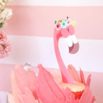 Pink Flamingo Birthday Party on Kara's Party Ideas | KarasPartyIdeas.com (3)